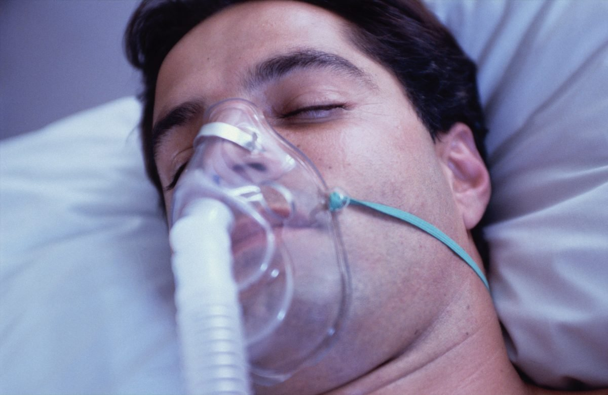 non-invasive oxygen mask