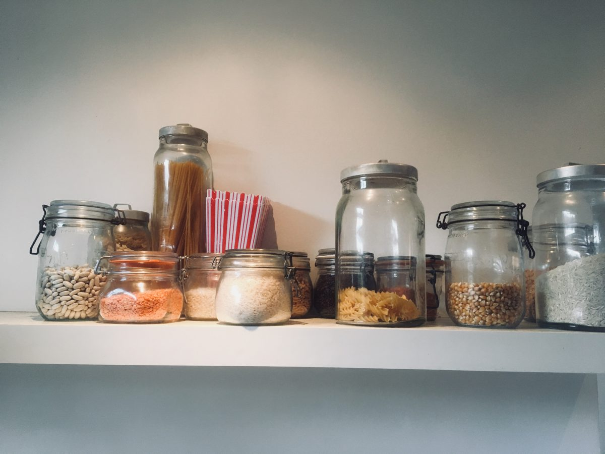 food airtight containers jars
