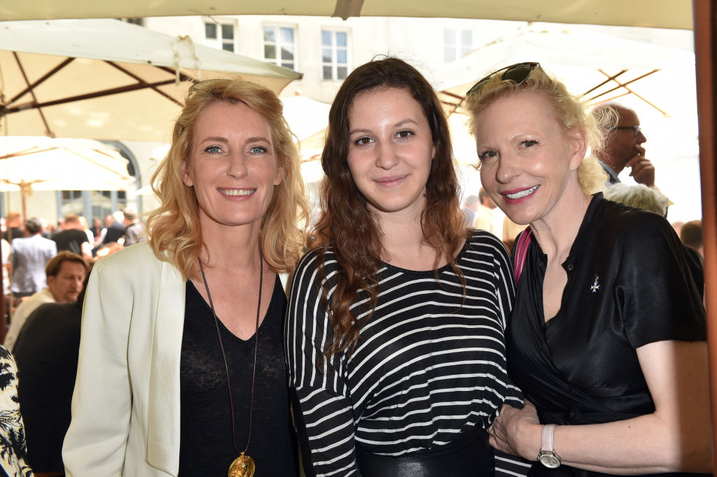 MUNICH, GERMANY - JUNE 29: Maria Furtwaengler, Leonille Elisabeth Judith Maria Anna Prinzessin zu Sayn-Wittgenstein-Sayn and Sunnyi Melles attend the FFF reception during the Munich Film Festival 2017 at Praterinsel on June 29, 2017 in Munich, Germany. (