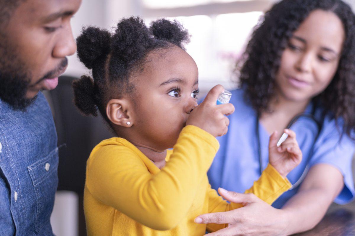 child asthma inhaler