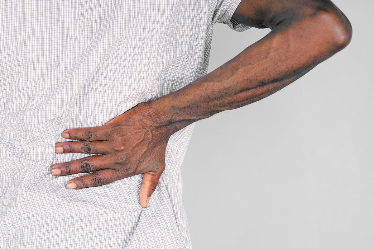 back pain herniated disc