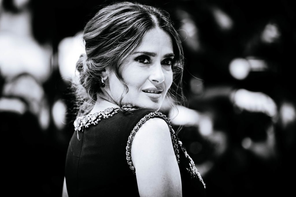 Salma Hayek natural beauty