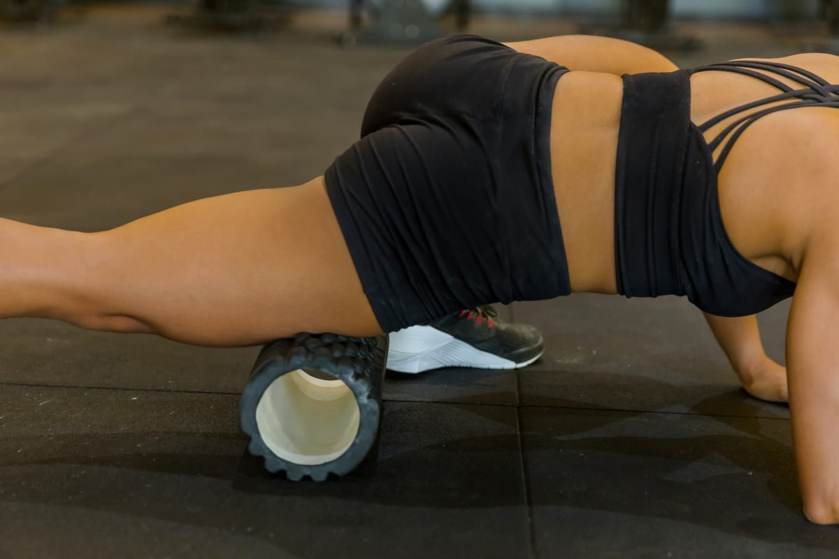 foam roller quadriceps muscle