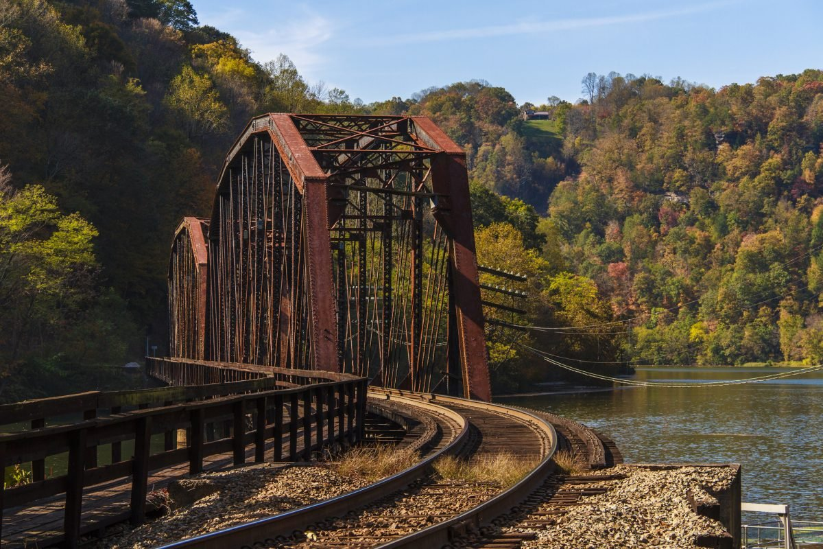 west virginia infrastructure poverty tracks