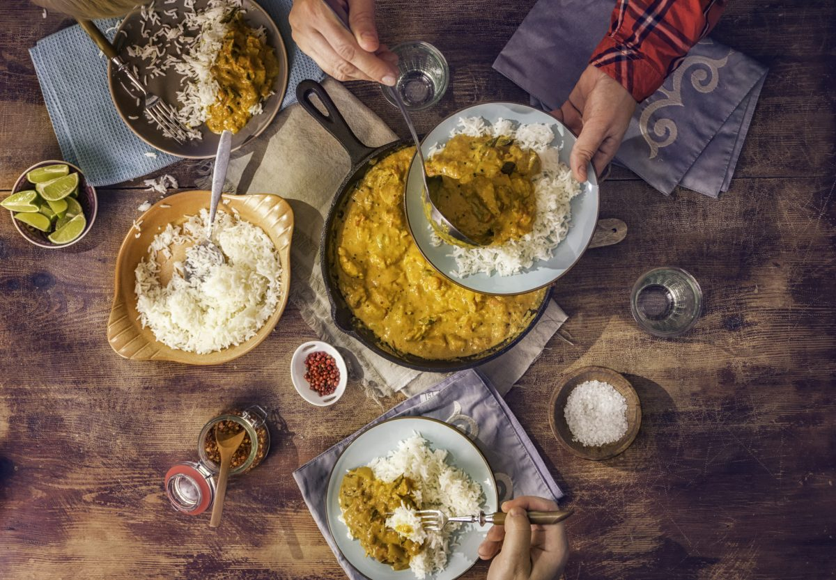 Recreate an Indian feast