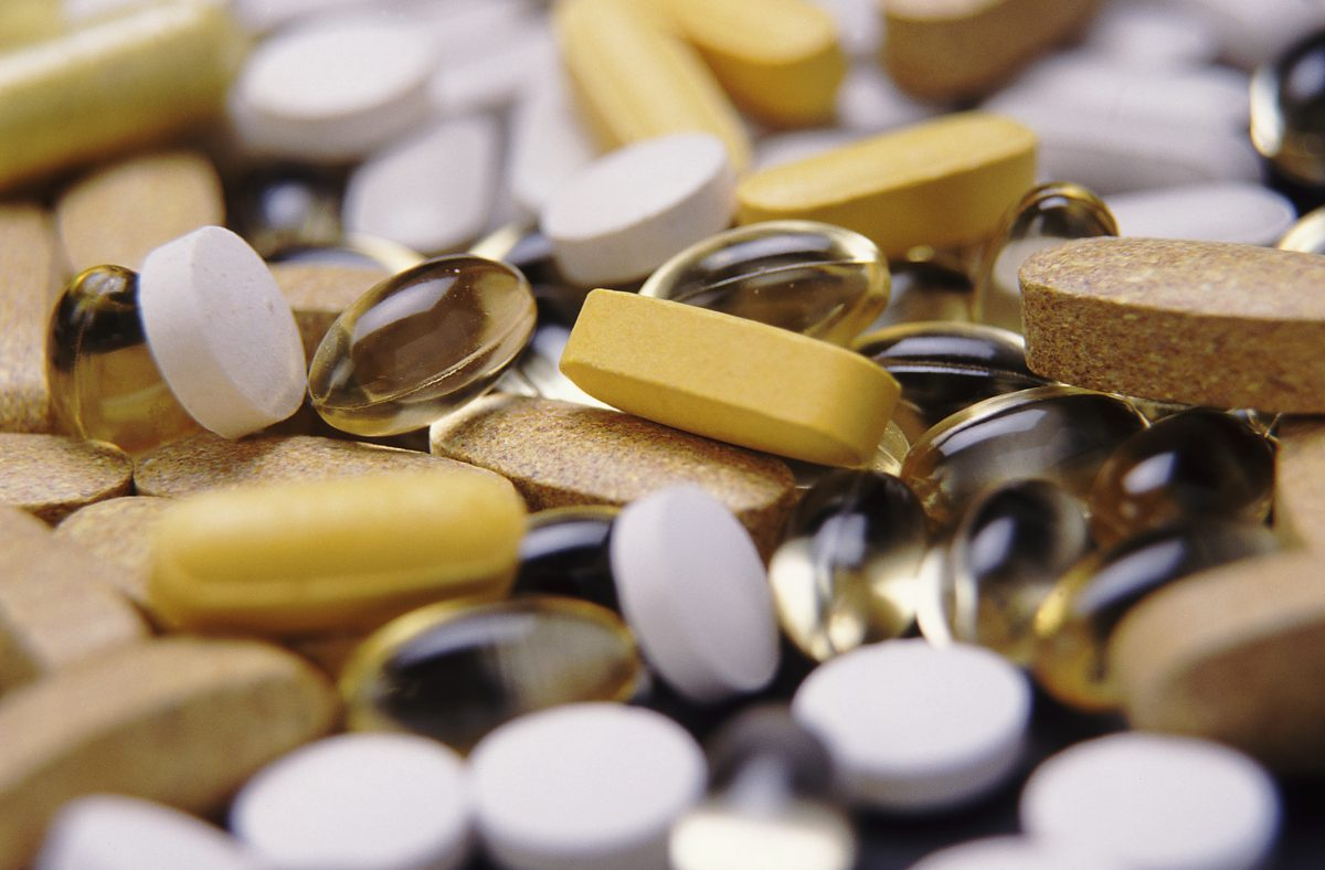 supplements vitamins medication