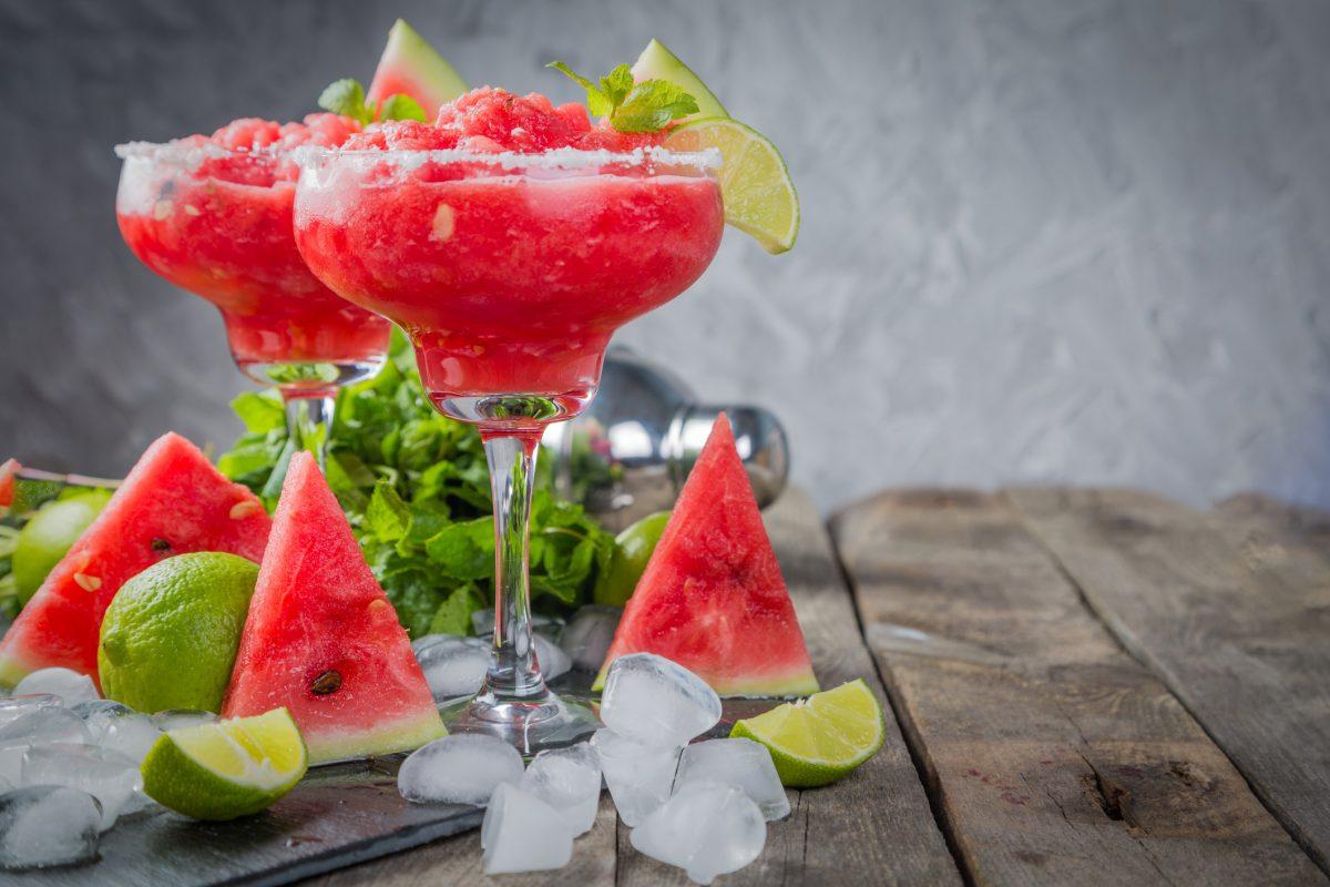 watermelon frozen drink