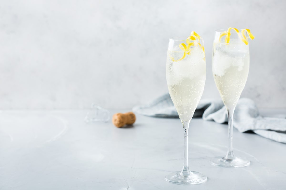 champagne cocktail glasses