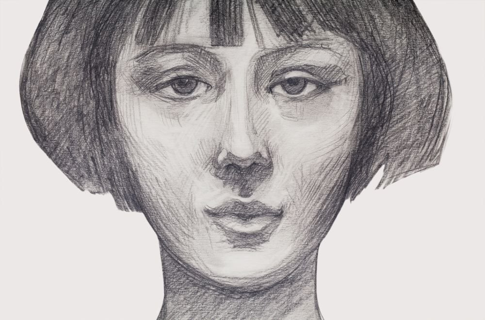 shading the upper lip drawing