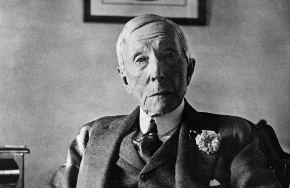 John D. Rockefeller richest people