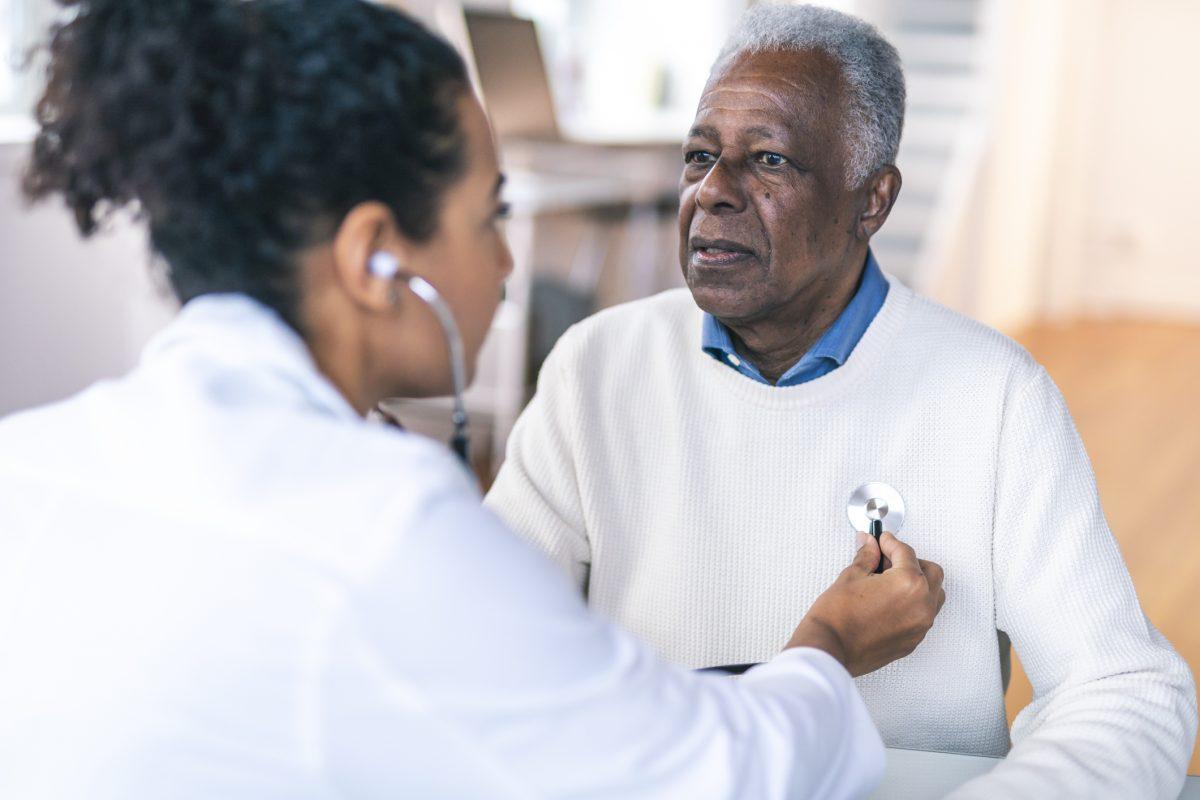 adultt man heart health patient