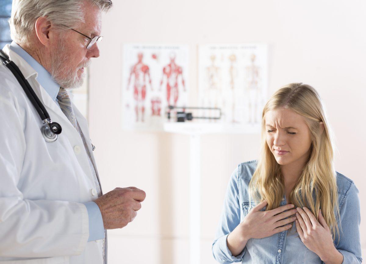 woman doctor GERD
