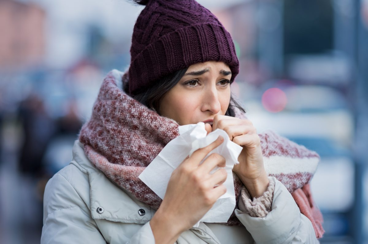 Coughing can spread the infection