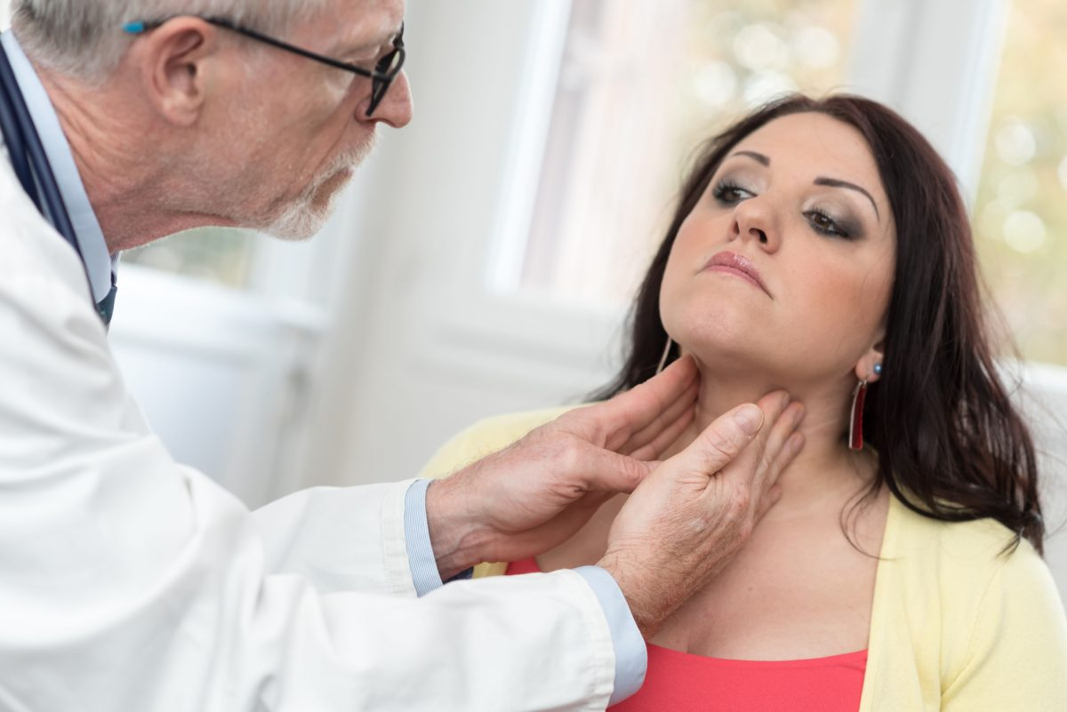 Thyroid exam loss of appetite
