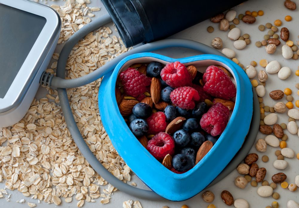 heart-healthy diet for lowering risk