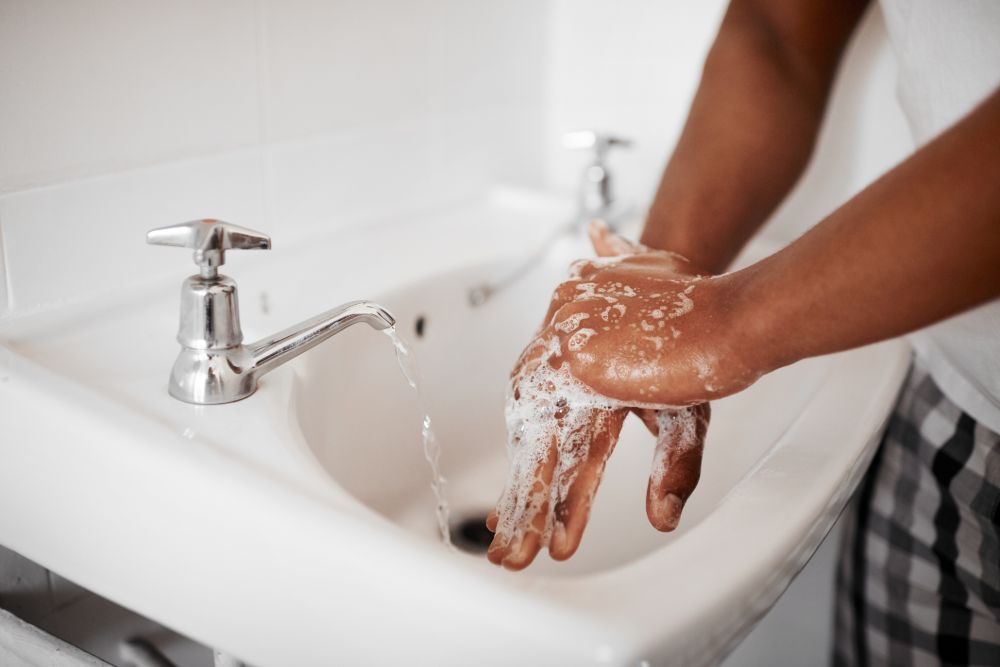 preventing throat infections with hygiene