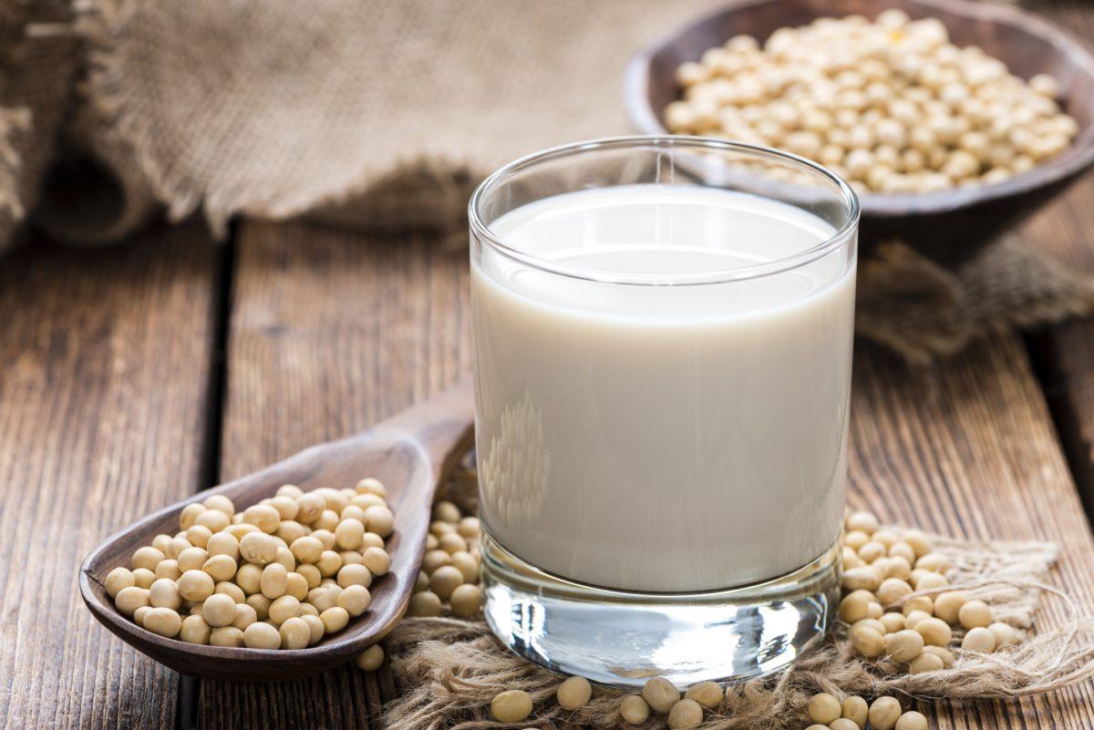 soy milk vitamin B12