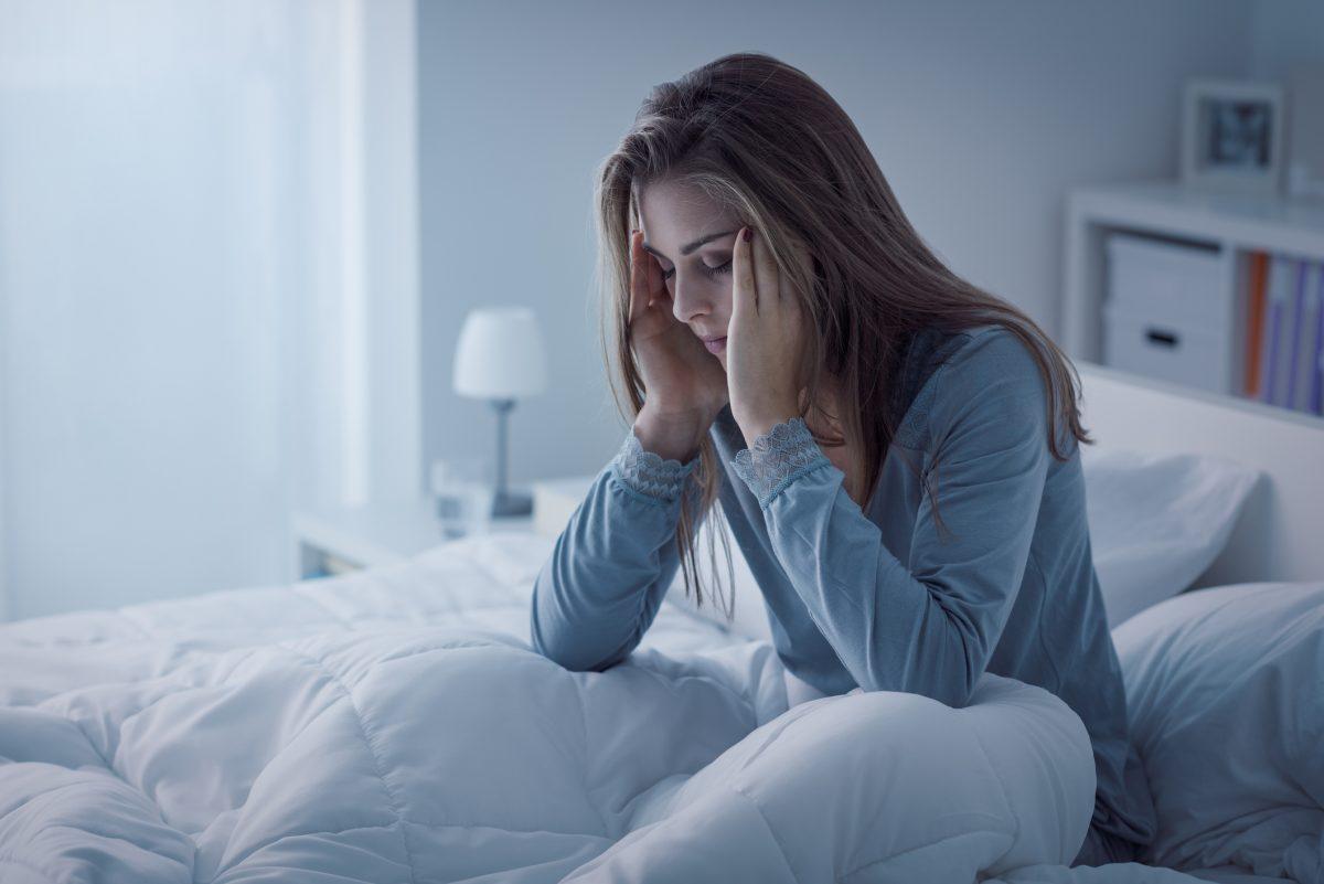 woman insomnia sleep