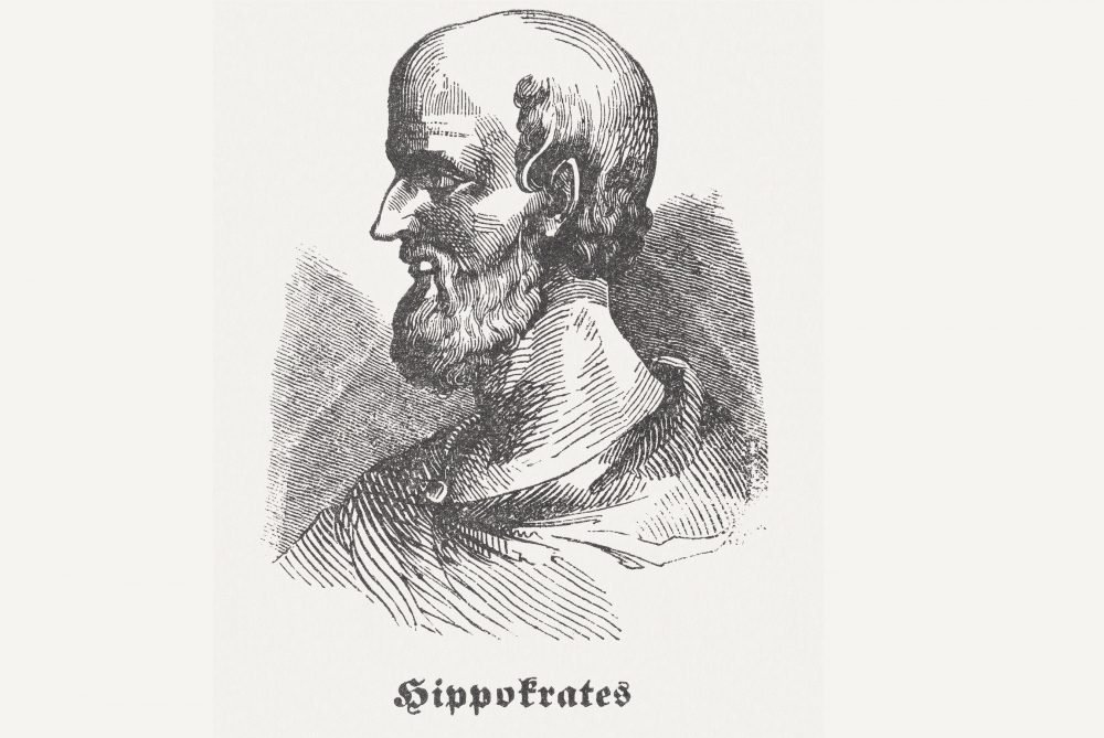 Hippocrates and the four humors