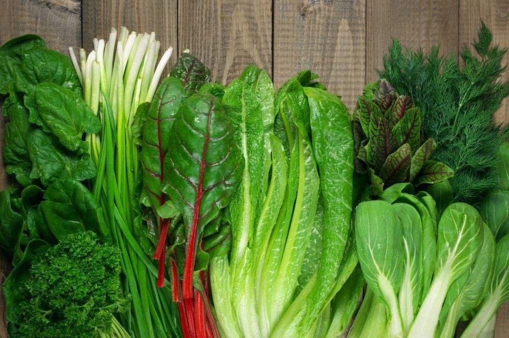 leafy greens low-sugar diet