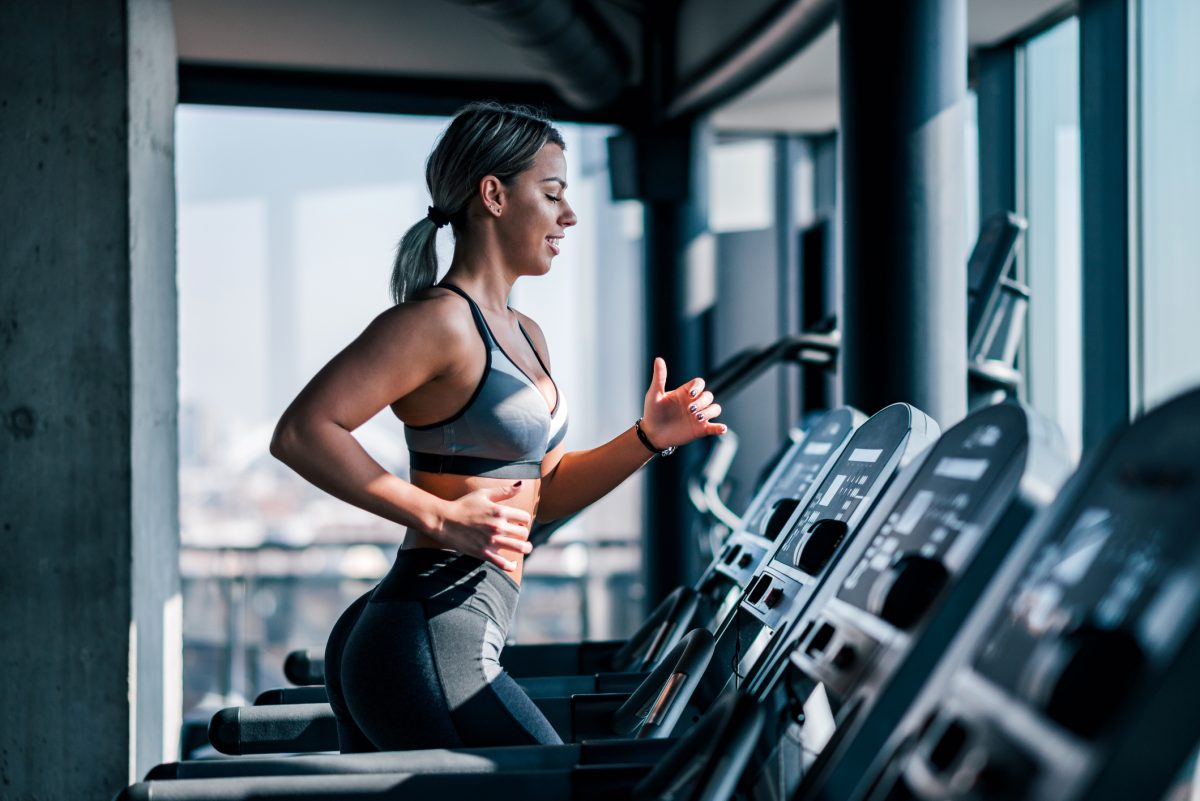 woman cardio aerobic exercise