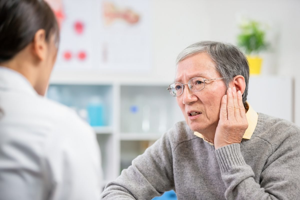 older patient ear pain