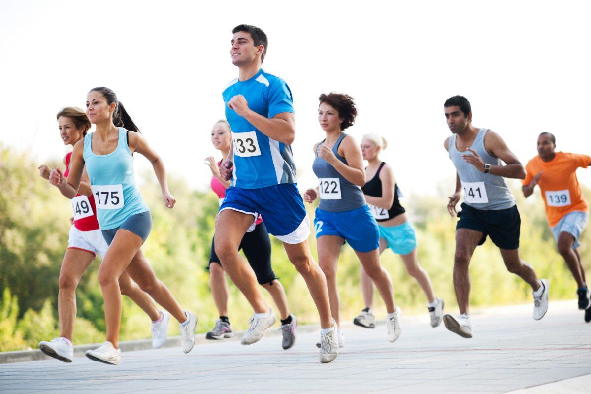 endurance marathon runners
