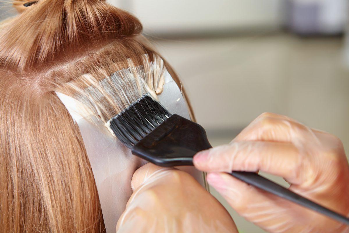 ammonia hair dye