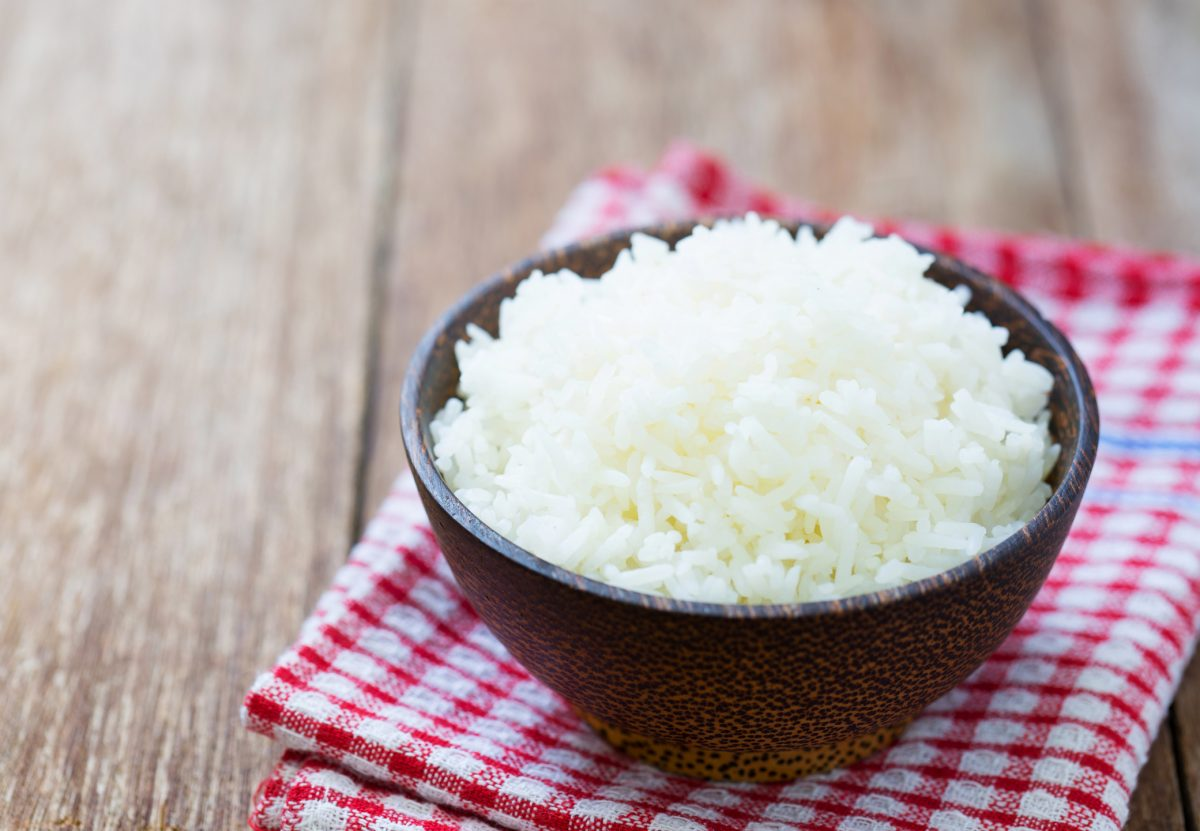 White rice is a nutrient rich addition to your diet.