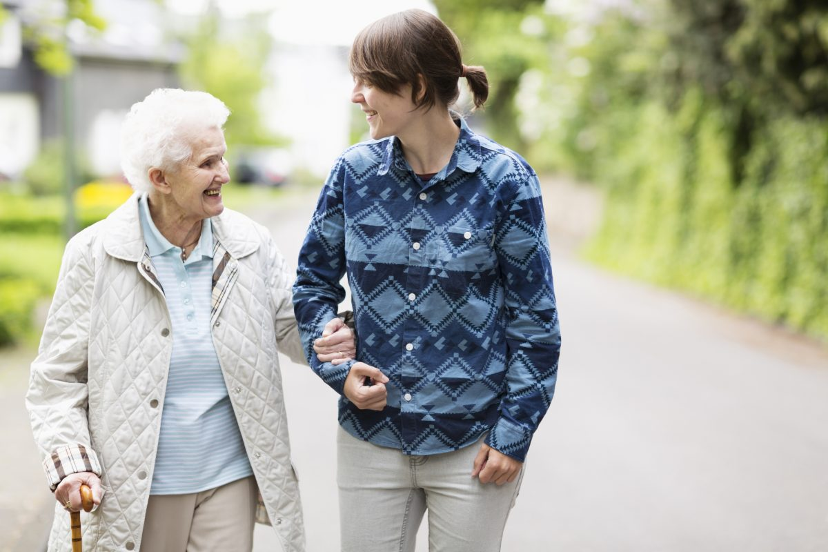 sarcopenia walking elderly