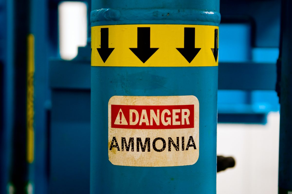 dangers of ammonia