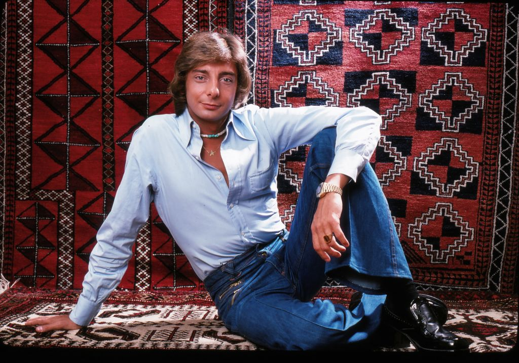 Singer/songwriter Barry Manilow photographed in New York City in 1976.