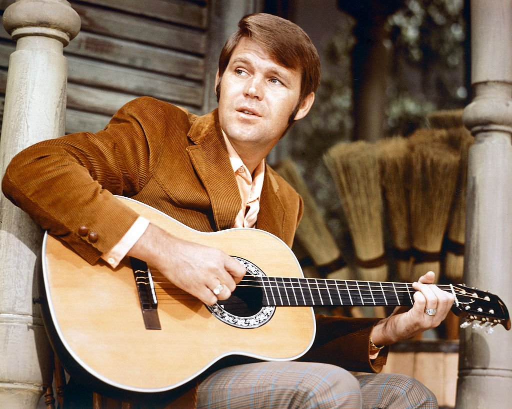 American country & western singer Glen Campbell, circa 1967.