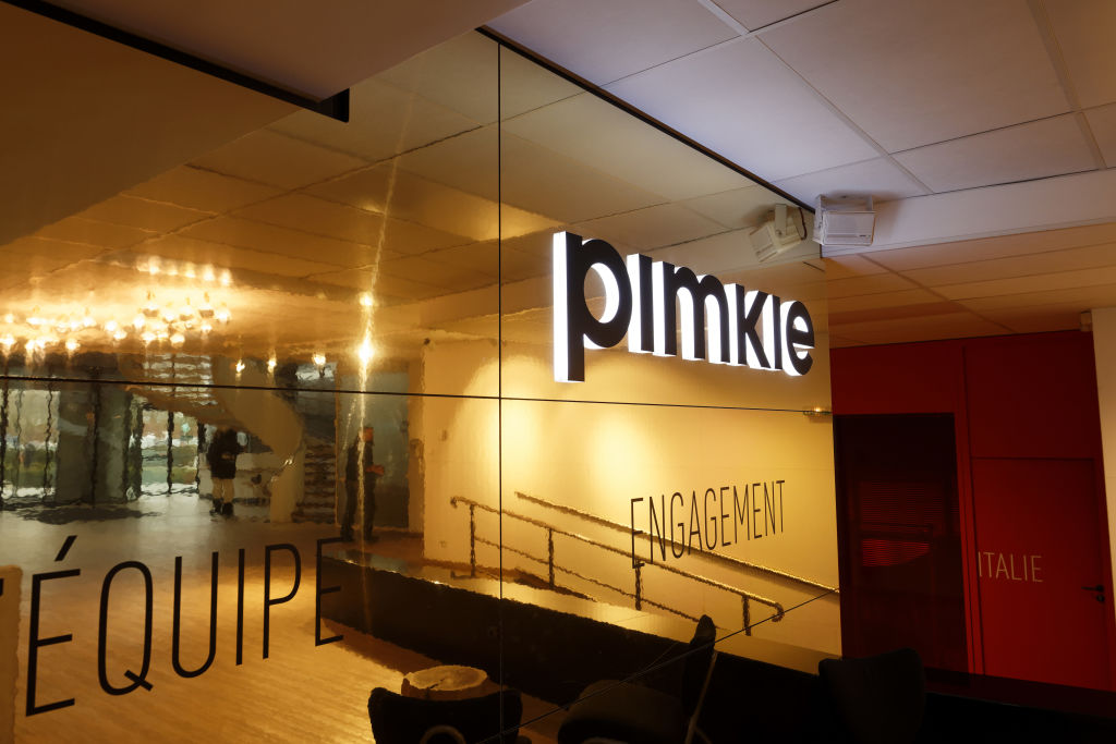 VILLENEUVE-D'ASCQ, FRANCE - JANUARY 08: 'Ready to wear' clothing company 'Pimkie' headquarters on January 8, 2018 in Villeneuve-d'Ascq, France. The management of the ready-to-wear chain Pimkie (Mulliez group) has presented to the elected representatives of the staff a project of more 200 job cuts, via a collective breaks collective