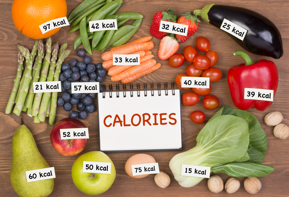 calories for various foods
