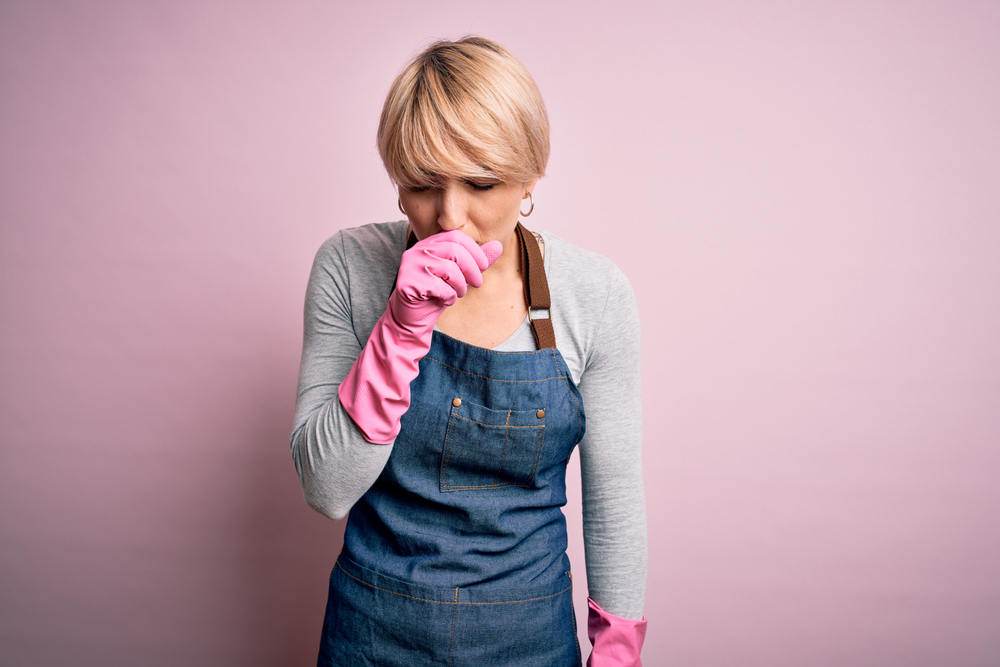 ammonia exposure causes coughing
