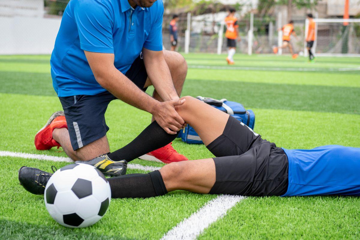 soccer leg injury
