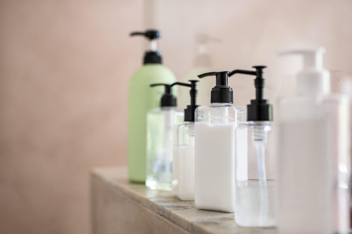soap lotion bottles scents