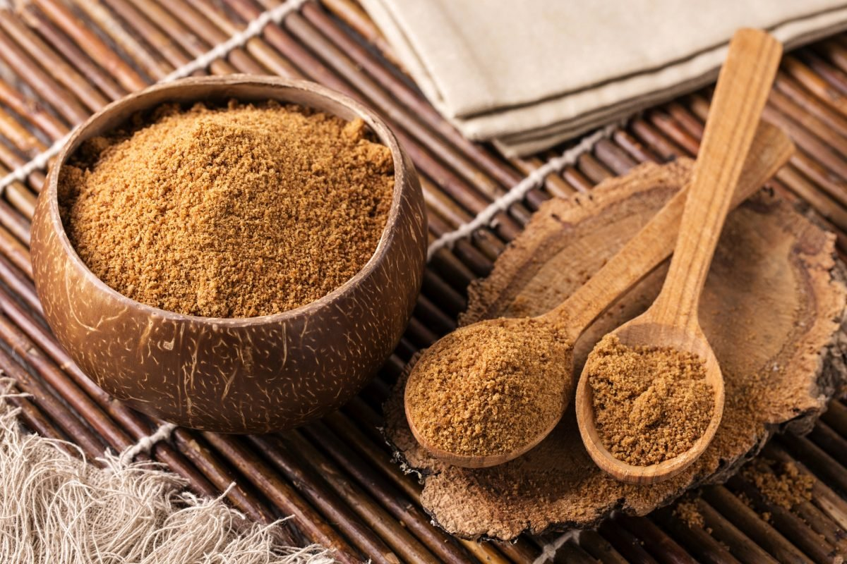 Coconut sugar is lower in fructose than refined sugar.