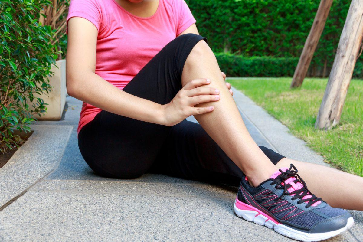 plantaris muscle injury woman