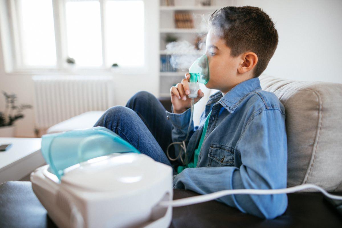 child nebulizer mask