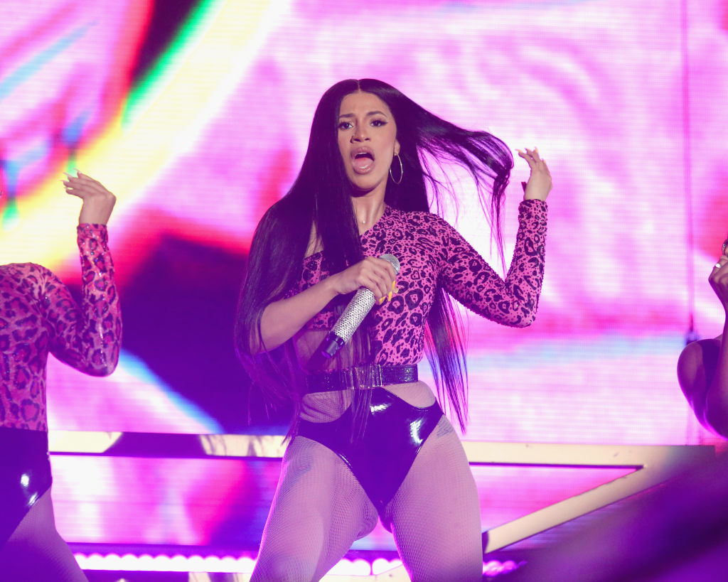 AUSTIN, TEXAS - OCTOBER 06: Cardi B performs in concert during week one of the ACL Festival at Zilker Park on October 6, 2019 in Austin, Texas. (Photo by Gary Miller/Getty Images)