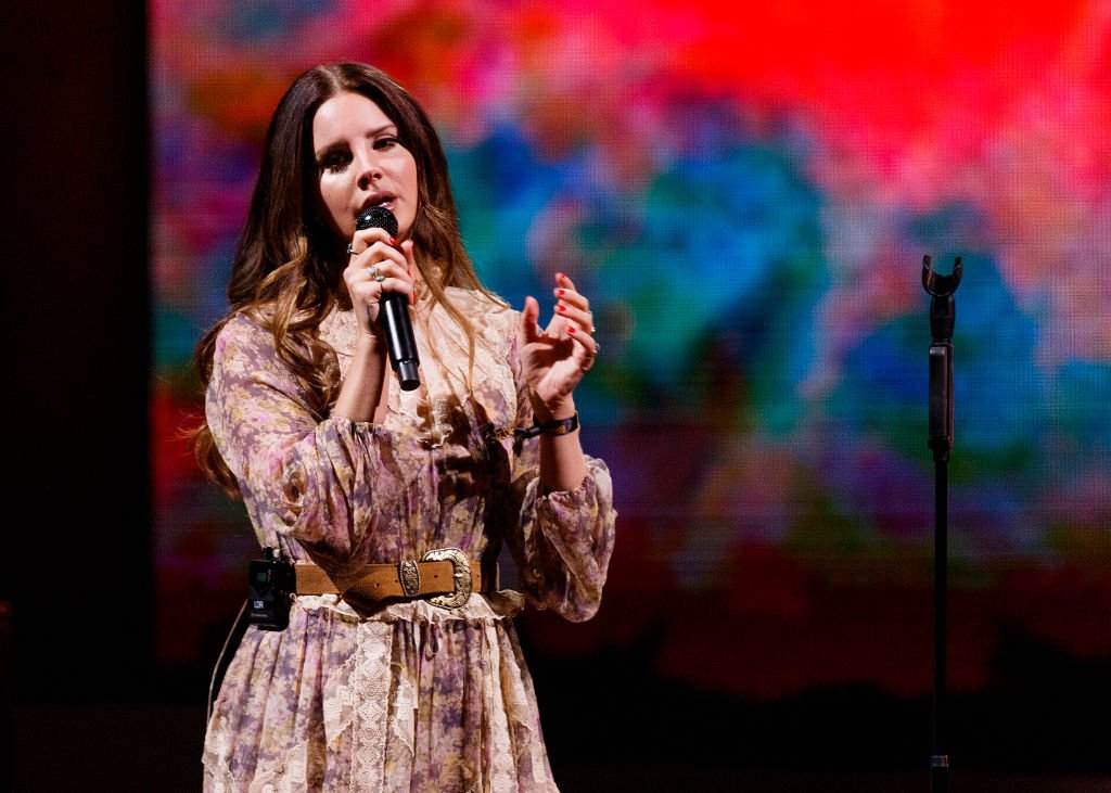 VANCOUVER, BRITISH COLUMBIA - SEPTEMBER 30: Singer-songwriter Lana Del Rey performs on stage at Rogers Arena on September 30, 2019 in Vancouver, Canada. (Photo by Andrew Chin/Getty Images)