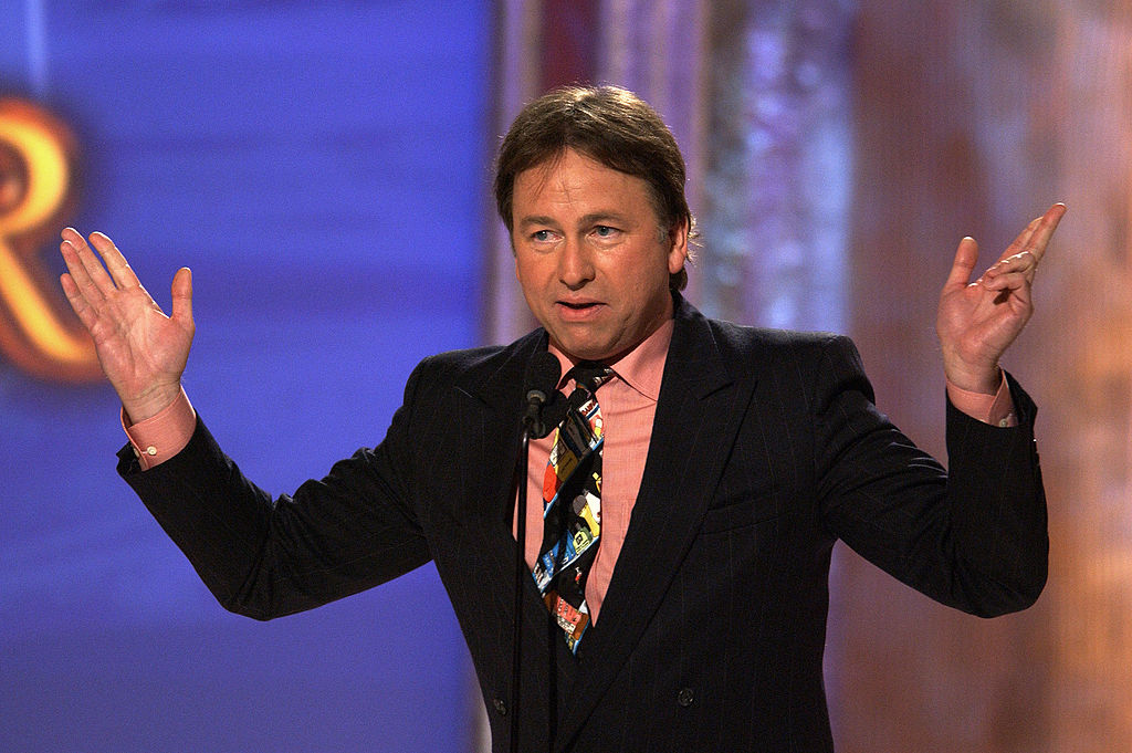 BEVERLY HILLS, CA - JULY 31: Actor John Ritter presents an award at the 4th Annual Family Television Awards on July 31, 2002 in Beverly Hills, California. The show will air on the ABC television network on Friday August 9, 2002. (Photo by Vince Bucci/Getty Images)