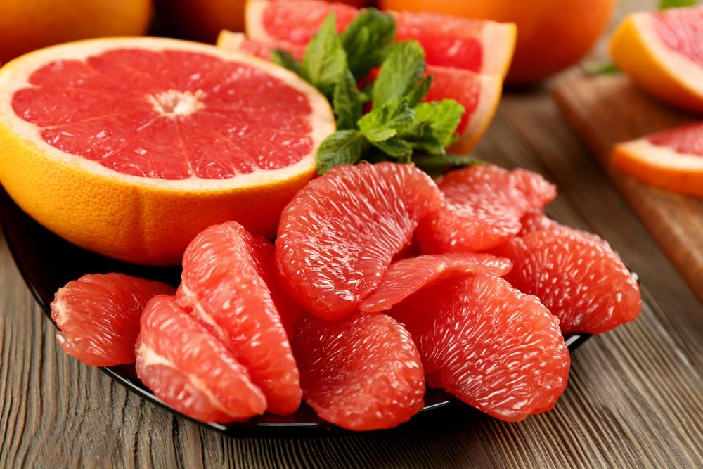 polyphenols and grapefruit