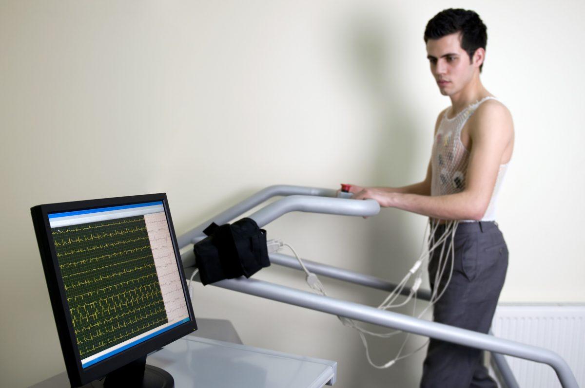 cardiac stress test results