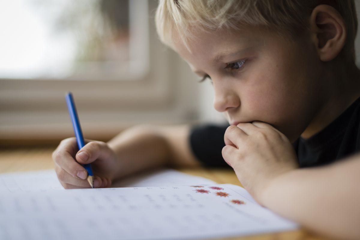 child workbook problems