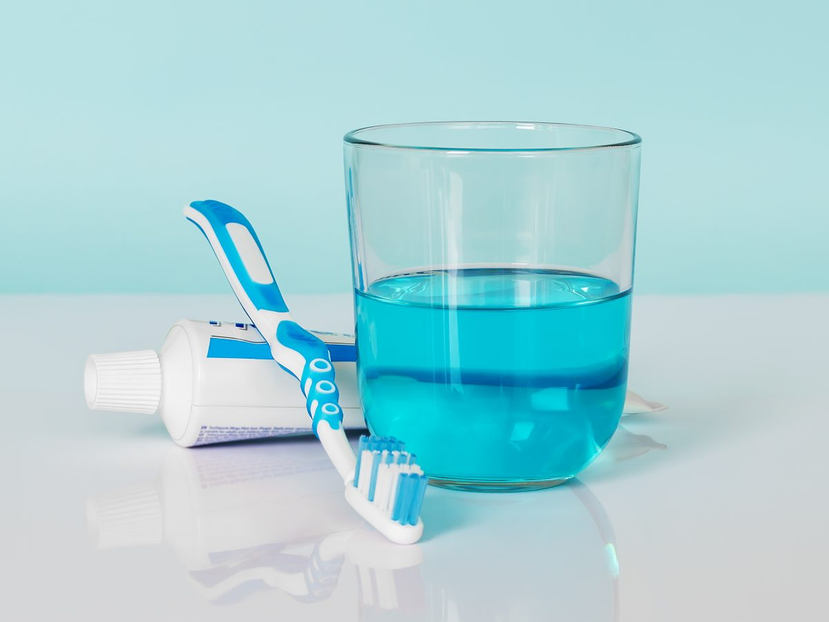 mouthwash, toothpaste, dry mouth, saliva