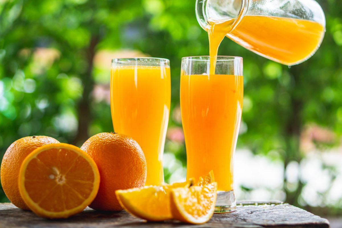 orange juice, folate, pregnancy