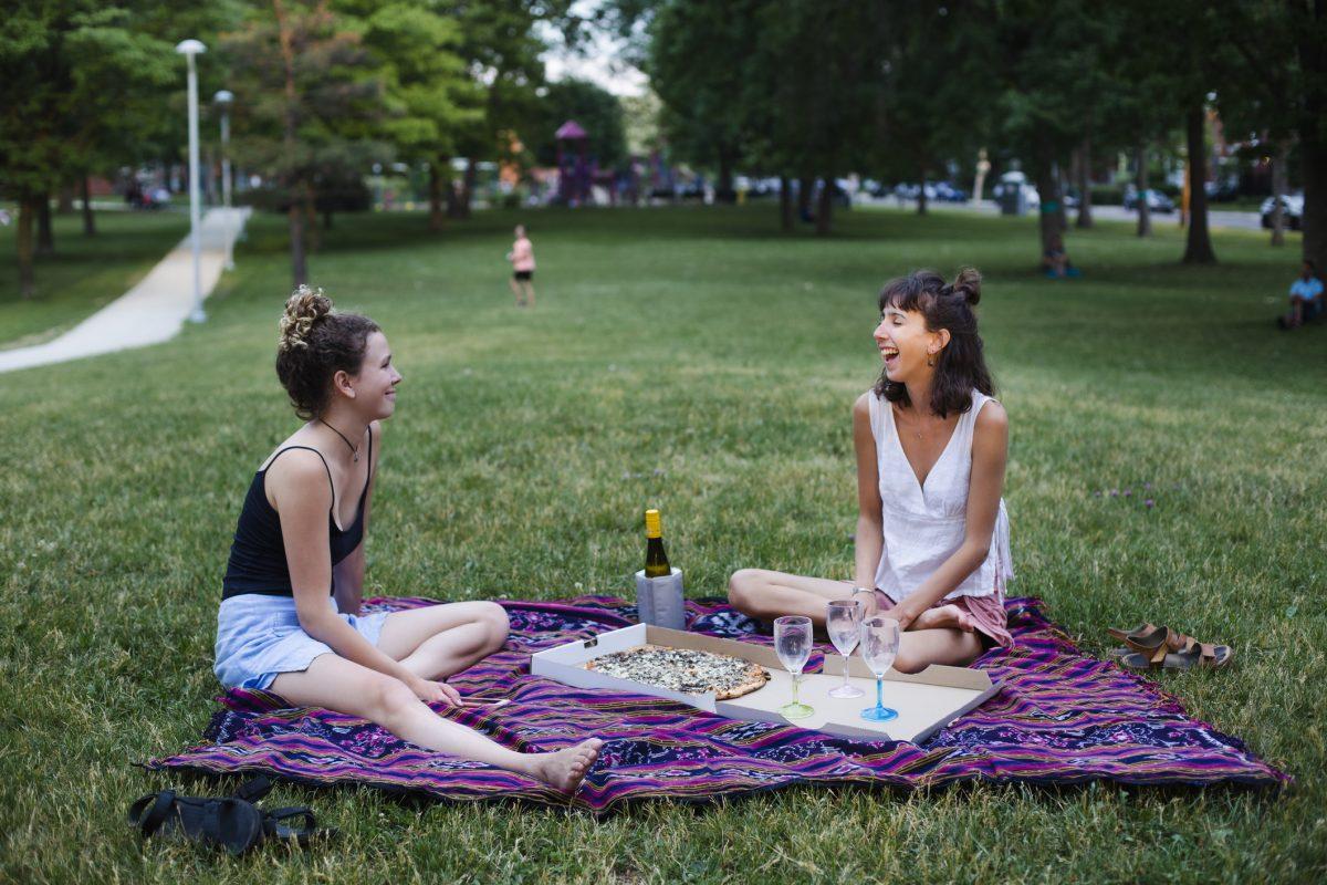 friends picnic park